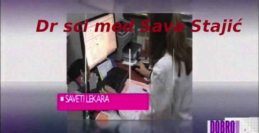Dr sci med Sava Stajic